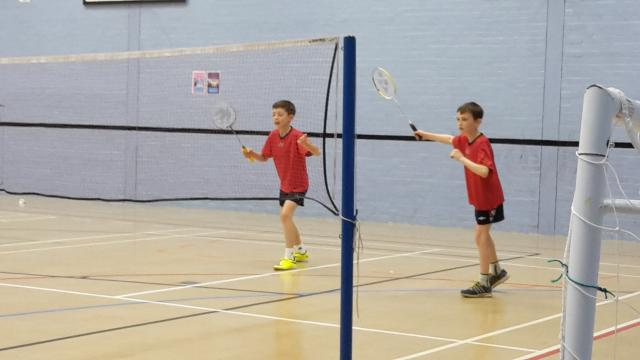Norfolk's U11 boys doubles