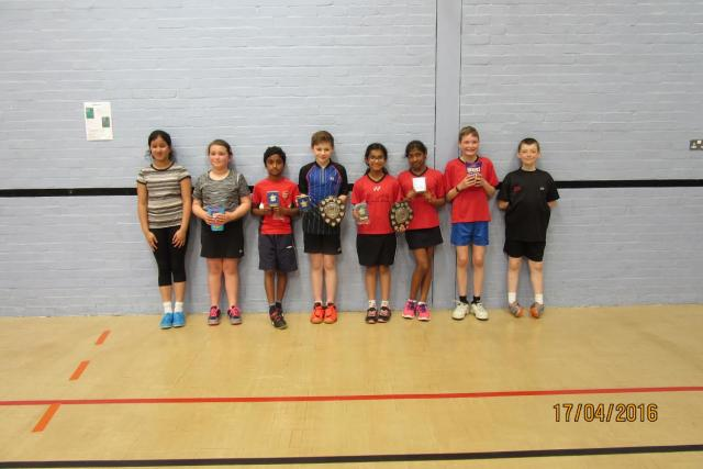 Norfolk's U11 Championships Winners