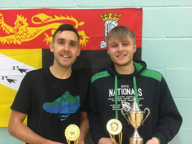 Mens Singles Runner Up / Winner - Michael Philpott & Jack Taylor
