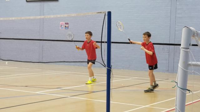 Norfolk's U11 boys doubles