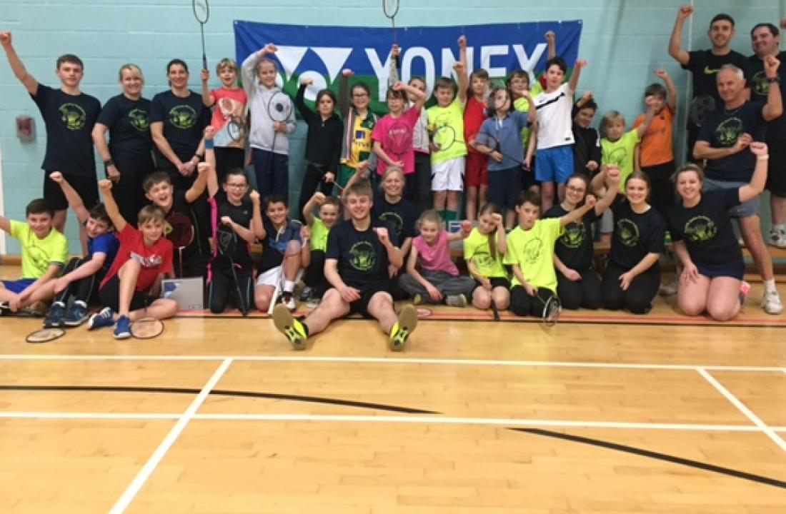 U12 Coaching Day - Norfolk badminton's best and brightest!